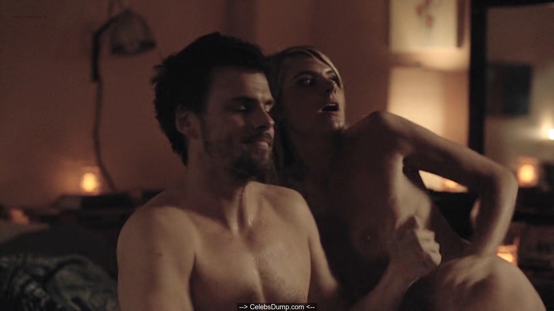 Eliza Coupe Topless photo 3