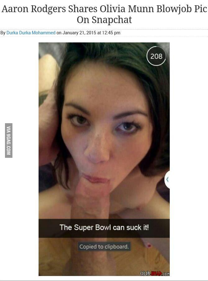 Olivia Munn Snapchat Blowjob photo 11