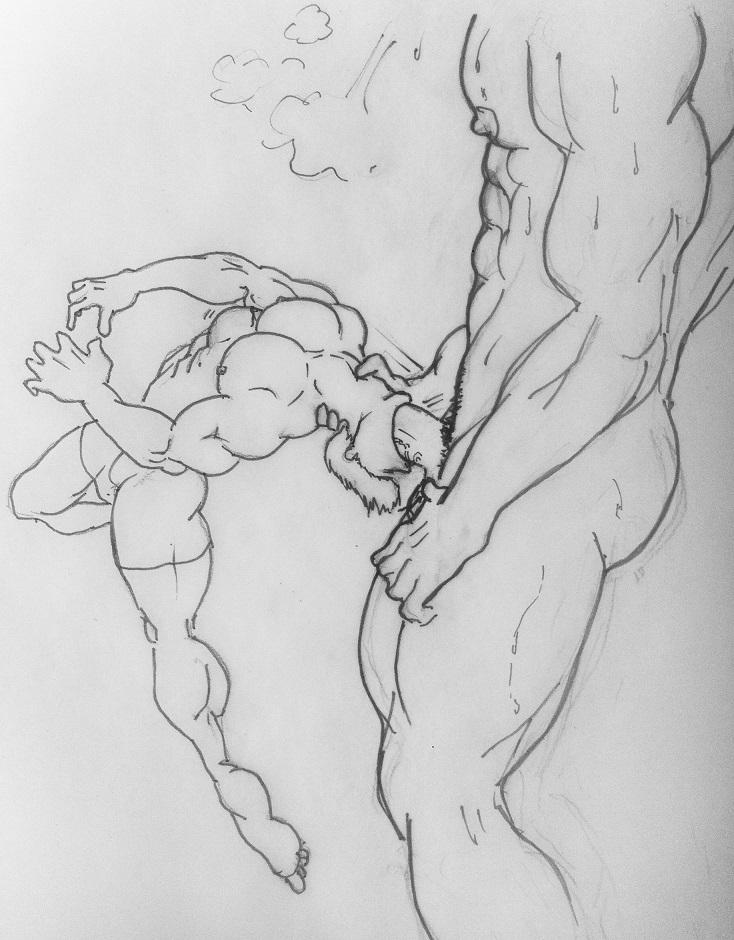 Drawing Blowjob photo 14