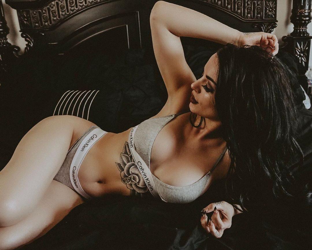 Paige Wwe Hot Instagram photo 4