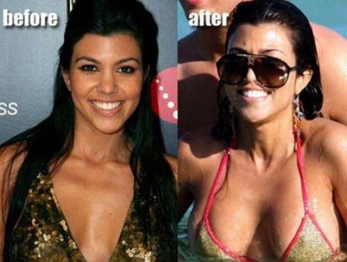 Kourtney Kardashians Boobs photo 18