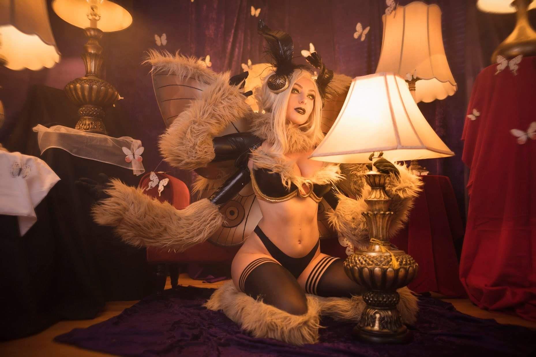 Jessica Nigri Moth photo 21