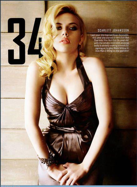 Scarlett Johansson Maxim photo 22
