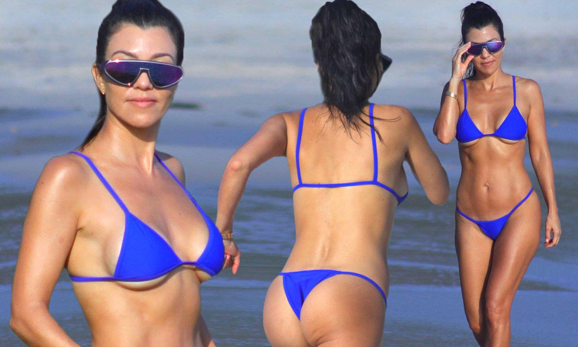 Kourtney Kardashians Boobs photo 13