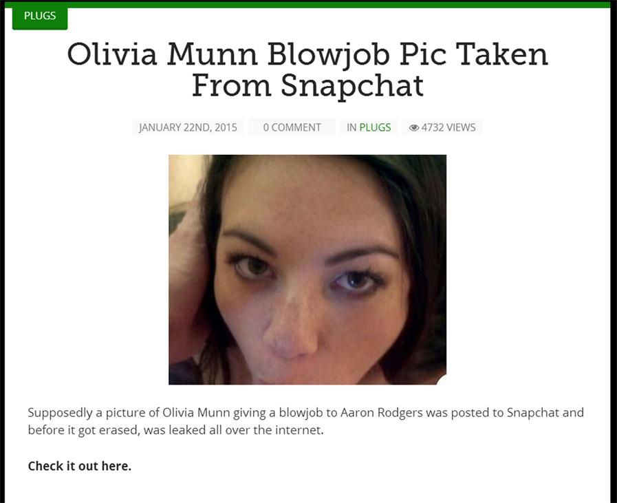 Olivia Munn Snapchat Blowjob photo 27