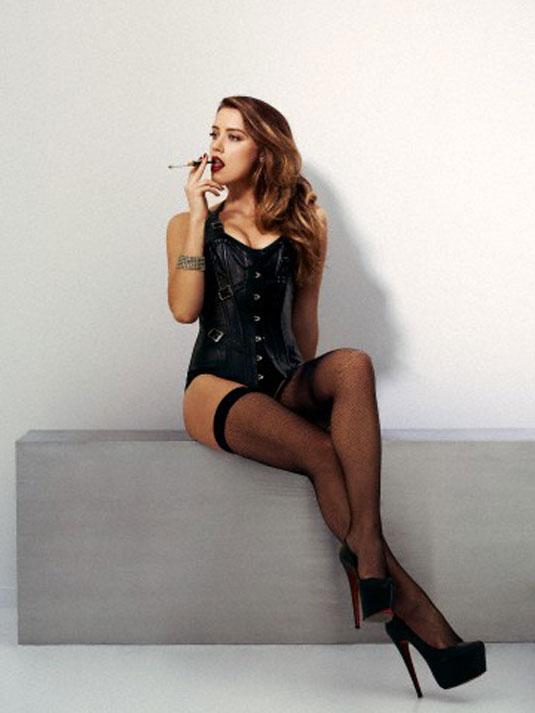 Amber Heard Lingerie photo 22