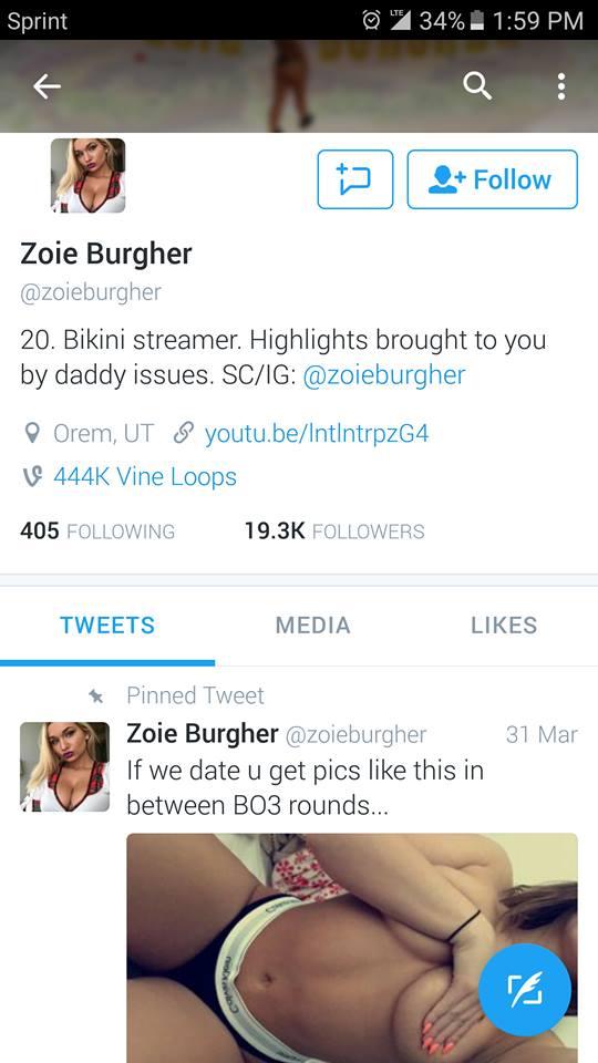 Zoie Burgher Nip Slips photo 11