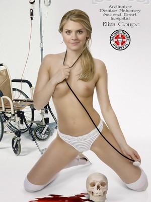 Eliza Coupe Topless photo 21