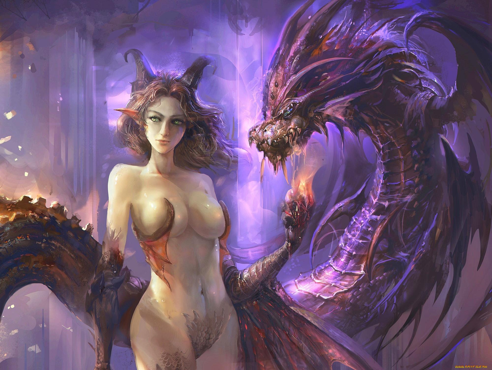 Naked Dragon Girl photo 11