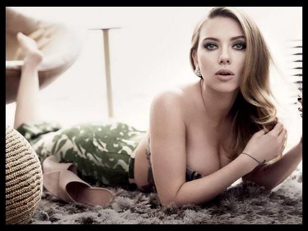 Scarlett Johansson Maxim photo 1